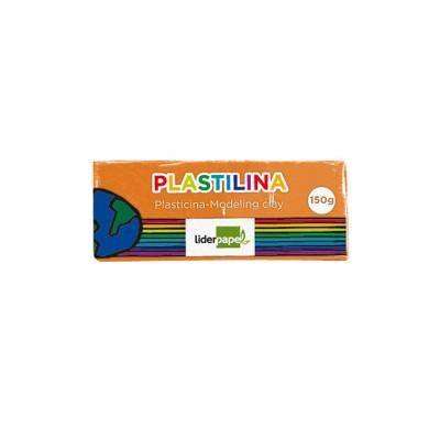 PLASTILINA LIDERPAPEL 52282 NARANJA 150 GR