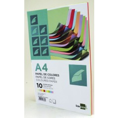 PAPEL COLOR LIDERPAPEL A4 80G M2