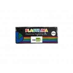 PLASTILINA LIDERPAPEL 52283 NEGRA 150 GR
