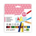 ROTULADOR LIDERPAPEL JUMBO 24 COLORES